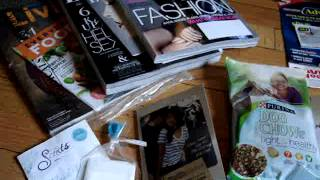 Freebies and Samples in the Mail video from August and Beginning of Sept. 2013 Thumbnail