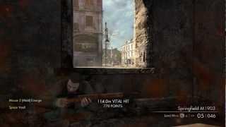 Sniper Elite V2 PC Game play walkthrough !! Ultra(All max) (Difficulty : Sniper Elite)