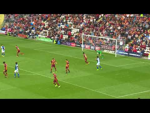 Highlights: Bradford City 0 Blackburn Rovers 1