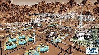 I BROKE THE GAME? - Surviving Mars - 5000 Population - 25 Domes - Sol 600 [4k]