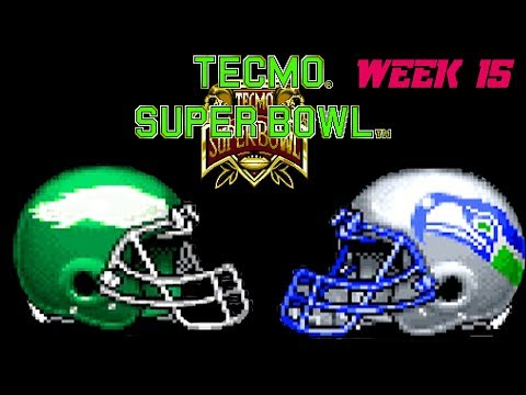 Septicor Played Tecmo Super Bowl Season 2 Week 15