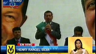 Juramentan a Rangel Silva como gobernador de Trujillo