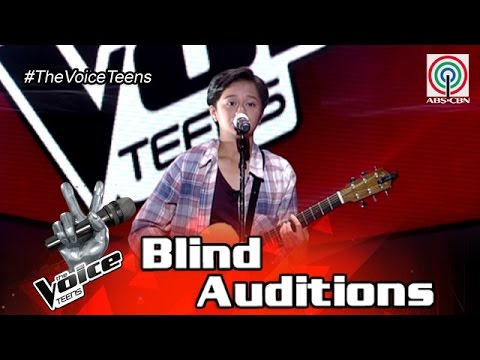 The Voice Teens Philippines Blind Audition: Andrea Badinas - Feeling Good