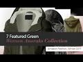 7 Featured Green Women Anoraks Collection Amazon Fashion, Winter 2017