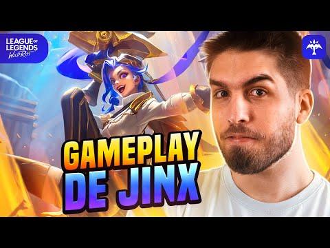 Download JINX WILD RIFT GAMEPLAY!   RAKIN
