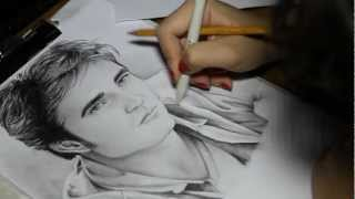Drawing Robert Pattinson by CreativElya