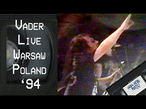 VADER Live in Warsaw Poland June 22 1994 FULL CONCERT