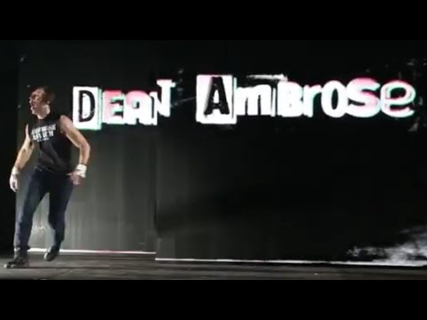 Entrance Dean Ambrose: WWE Live in Stuttgart – 14. November 2015