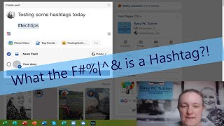 What the F#%|^&  is a Hashtag?!  |  Social Media Series for Beginners  |  Easy PC Tuition