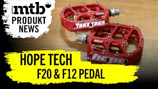 Hope Tech F20 F12 Pedal World Of Mtb Produkt News Youtube