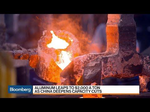 Aluminum Leaps to $2000 a Ton