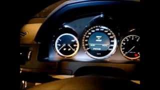 Mercedes C300 avec un problème de sonde à oxygène.