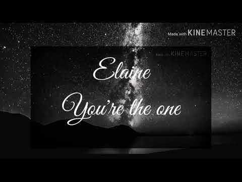 elaine|-you're-the-one-lyrics