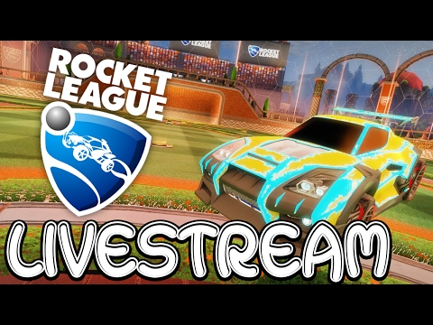 SquiddyPlays - ROCKET LEAGUE LIVESTREAM!