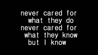 Repeat youtube video Metallica - Nothing else matter lyrics