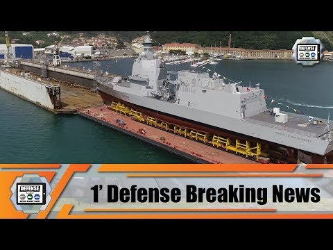 Fincantieri Launched First PPA Multipurpose Offshore Patrol Ship OPV Of The Italian Navy