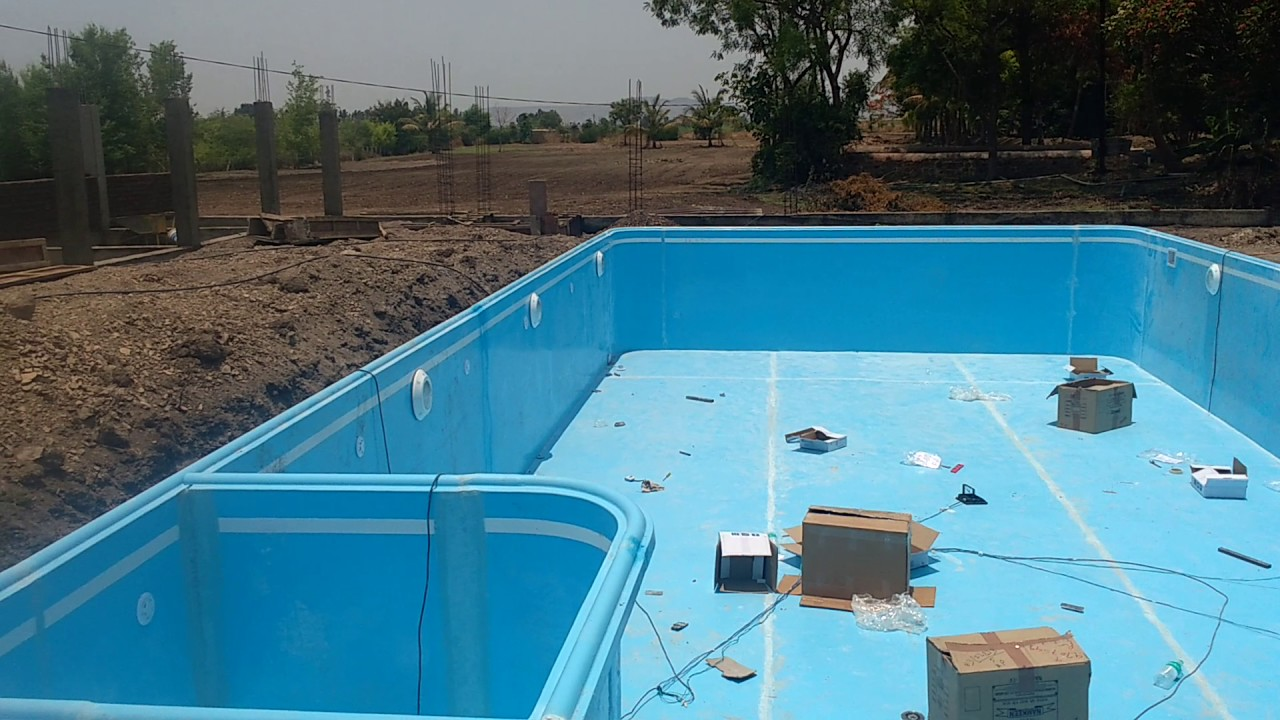 Readymade Swimming Pool(FRP) in Pune - YouTube