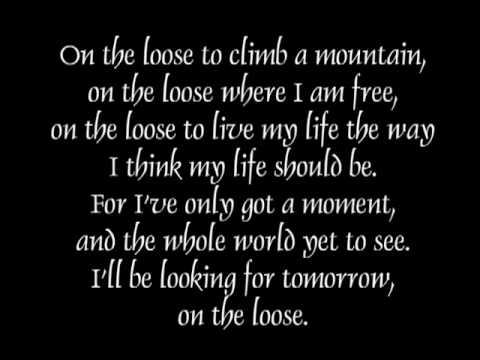 On the Loose Lyrics