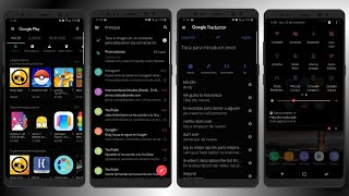ACTIVA EL DARK MODE EN TODAS TUS APPS ANDROID (SAMSUNG) OREO