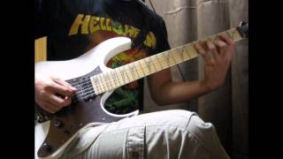 Helloween - Straight Out Of Hell(Guitar Cover)