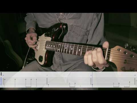 Munster Theme on Guitar (Scrolling tabs)