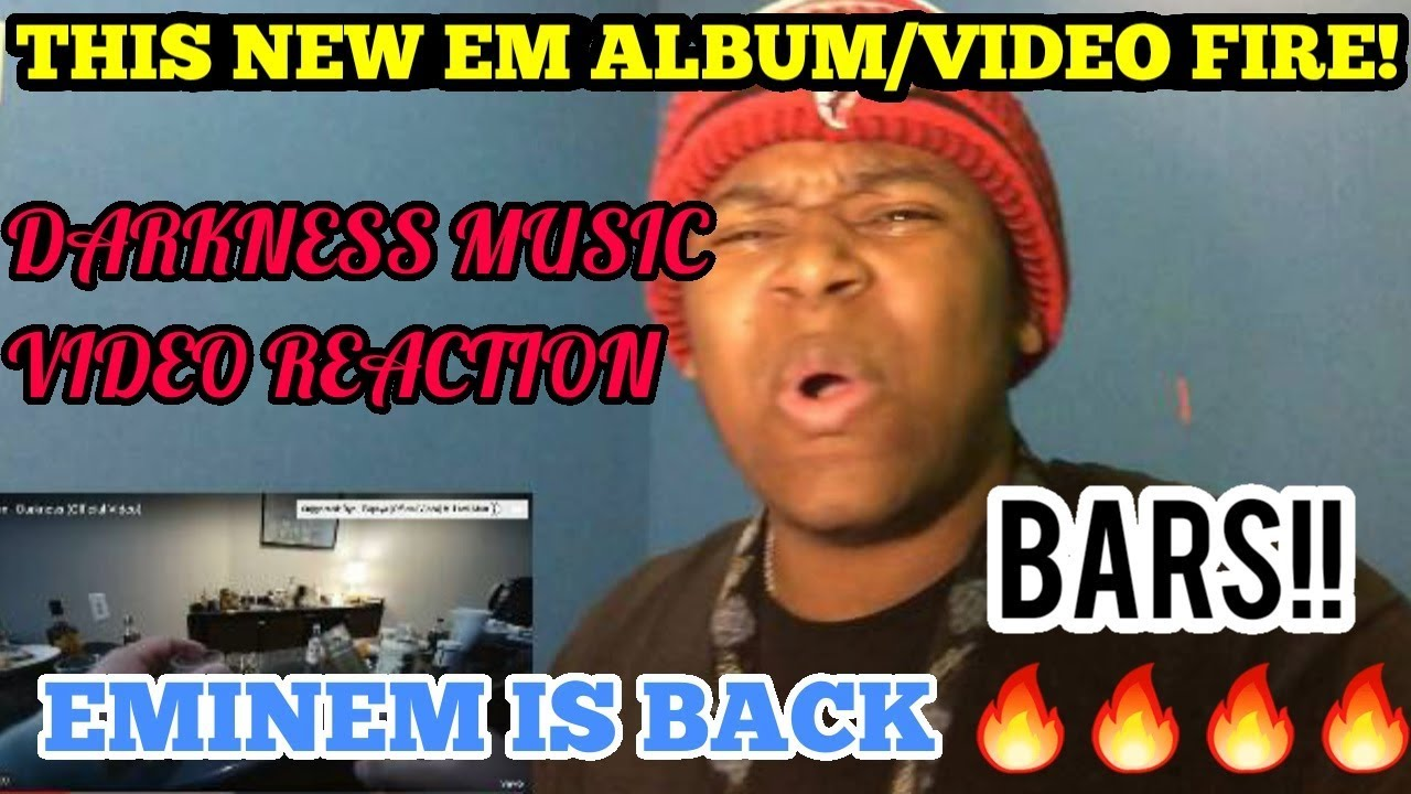EMINEM NEW ALBUM! Eminem - Darkness Music Video Reaction (Music To Be Murdered By)