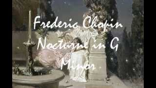 Frederic Chopin - Nocturne in G Minor - Op. 15 No. 3