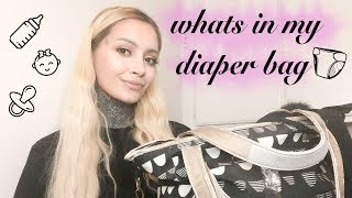 What I KEEP in My Diaper Bag 2018