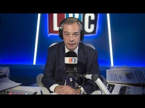 NEW - The Nigel Farage Show - LBC Exclusive - Donald Trump & Putin - 11-01-2017