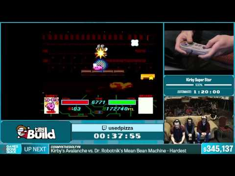 Kirby Super Star by usedpizza in 1:15:20 - Summer Games Done Quick 2015 - Part 72