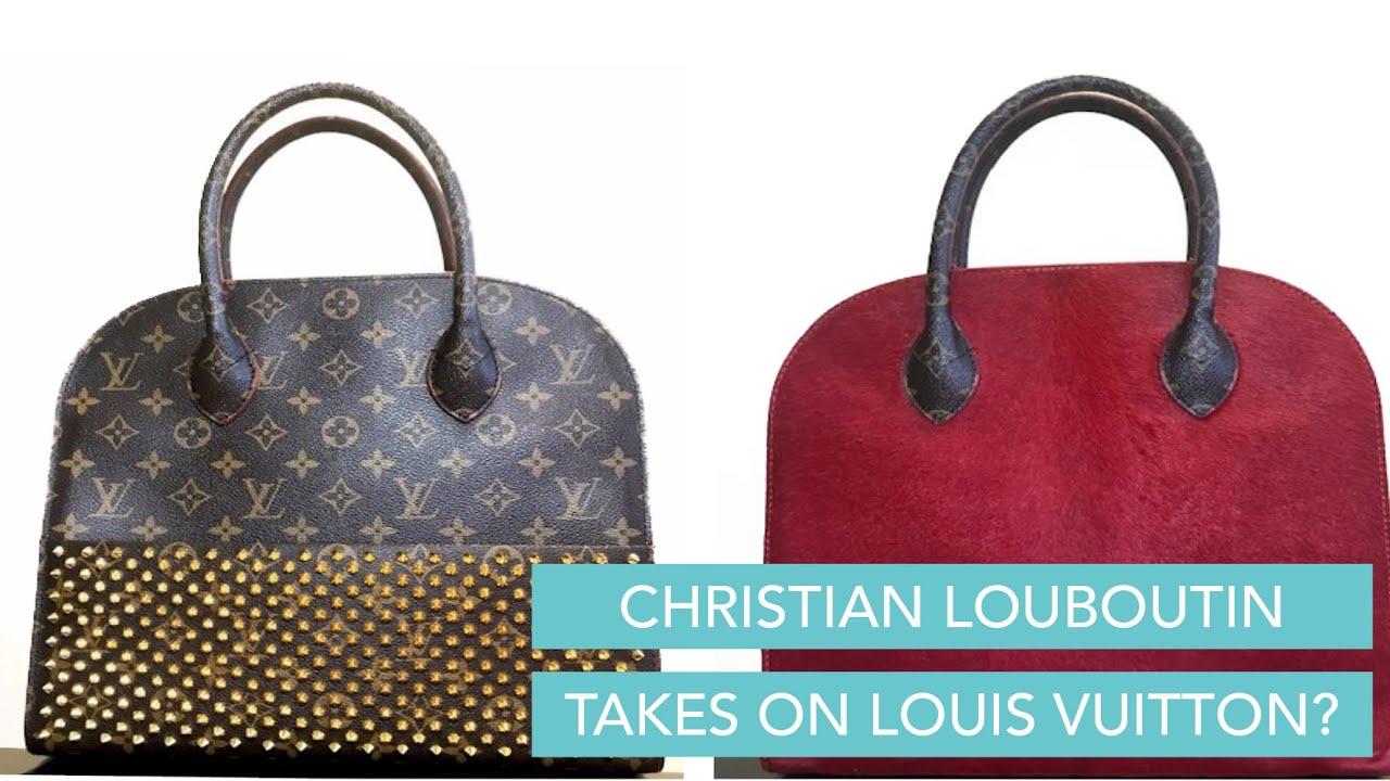 Christian Louboutin Takes On Louis Vuitton With This Collaboration Bag Youtube