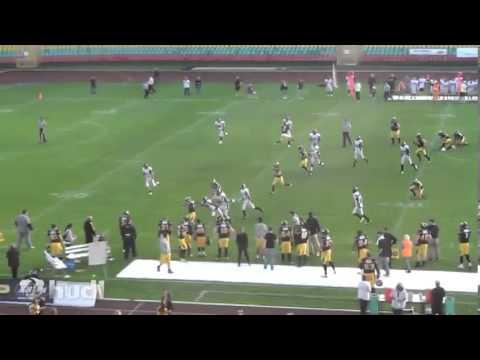 Conrad Meadows Football Highlights Berlin Adler 2012-2013