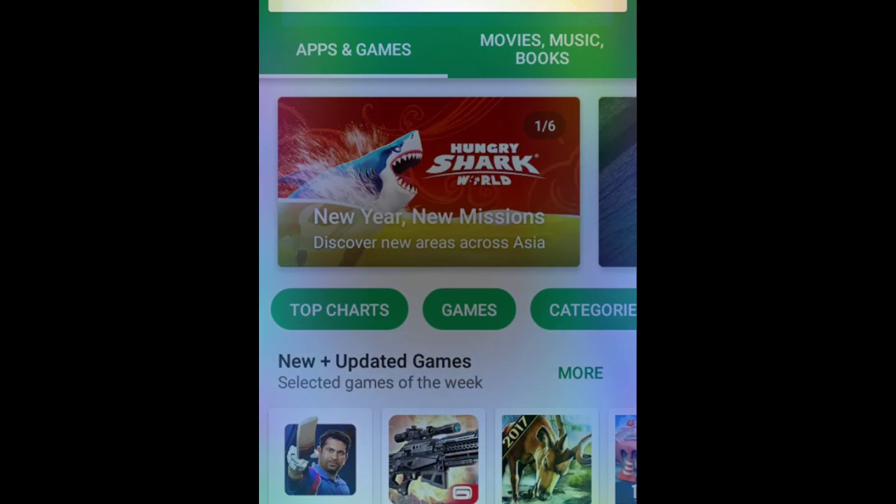How to delete Google play store search history on your android