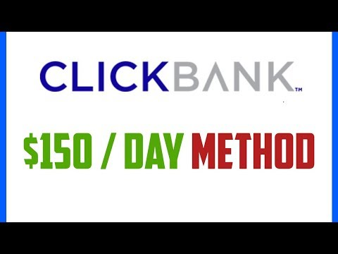 Clickbank For Beginners - Step By Step Earning $150 A Day With Clickbank 2019