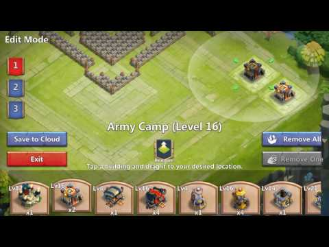 Castle Clash TH 21 HBM/GW Base Design!!!