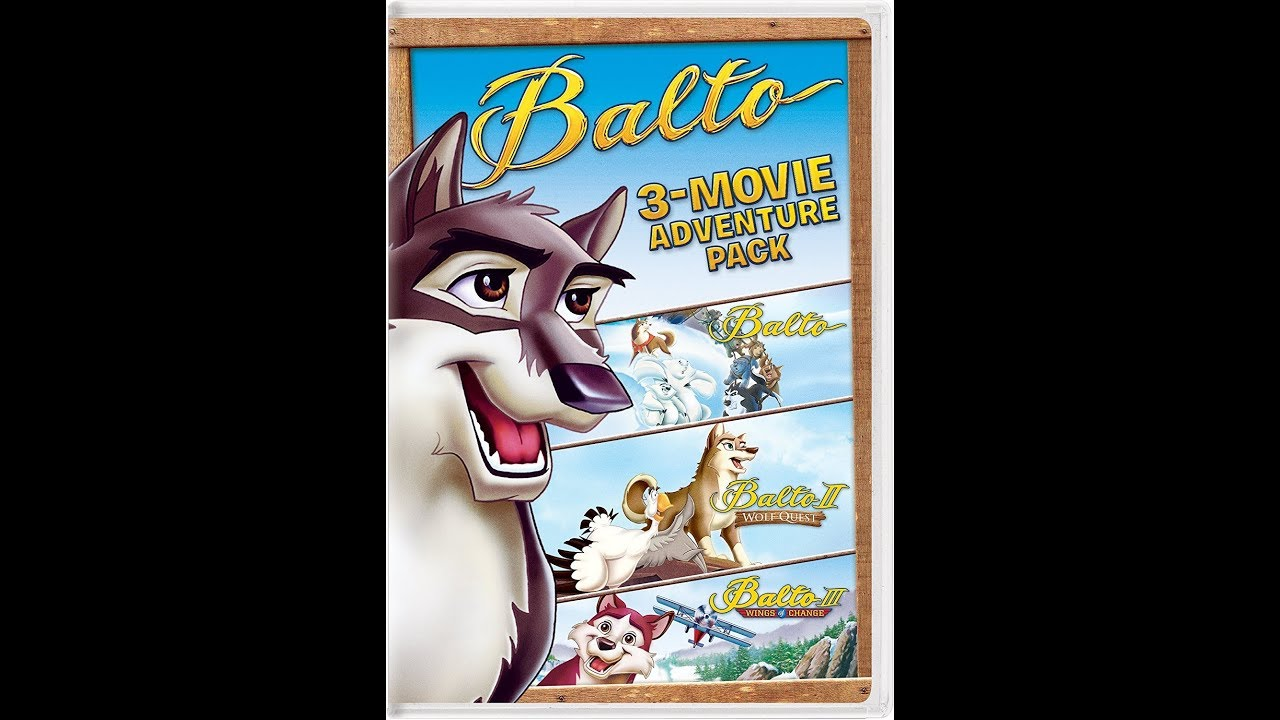 Opening to Balto 2001 DVD (2016 Reprint) - YouTube