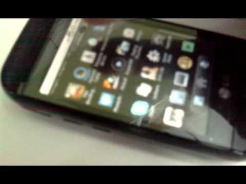 LG GW620 com Android 2.2.1 (Froyo) via Openetna