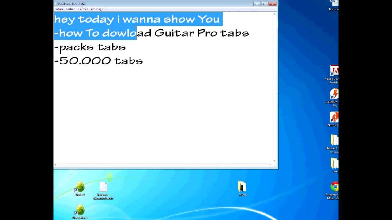 Guitar pro tabs pack torrent