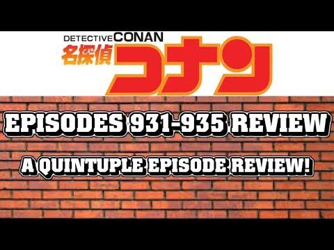 Detective Conan Episodes 931-935 Review