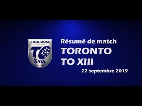 Résumé Toronto v TO XIII - Play-off 2 Championship - 22.09.2019