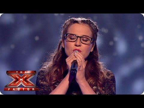 Abi Alton sings Lego House by Ed Sheerhan - Live Week 5 - The X Factor 2013