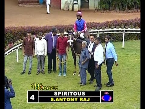 Spiritous with S Antony Raj up wins The Manipal Plate Div 1 2018