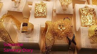 Dubai Gold Market 2019 | Most Affordable Gold Market In Asia | Cost Per Gram | P