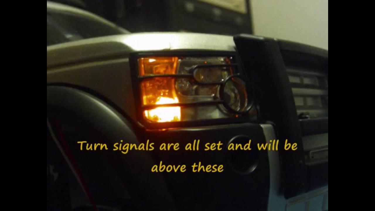 Custom RC ~*Land Rover*~ LR3 Build ~Part 4~ how to make LED light ...