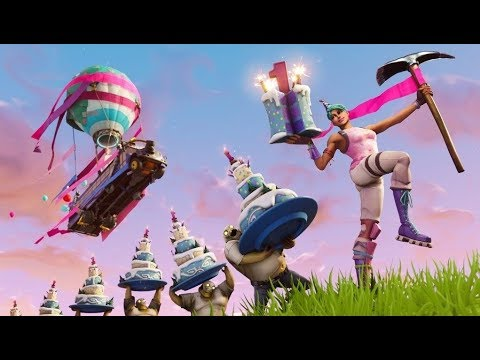 fortnite birthday battle bus music 10 hours - fortnite anniversary battle bus music