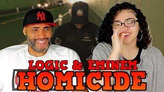 MY DAD REACTS TO Logic - Homicide ft. Eminem REACTION