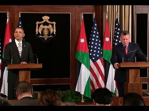 President Obama Holds a Press Conference with King Abdullah II of Jordan
