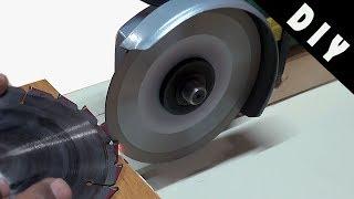 Circular Saw Blade Sharpener Jig DIY How to make