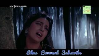 Aaja Na Tere Bin Laage Nahi Song   New Whatsapp Status Video   Bol Radha Bol Movie Song