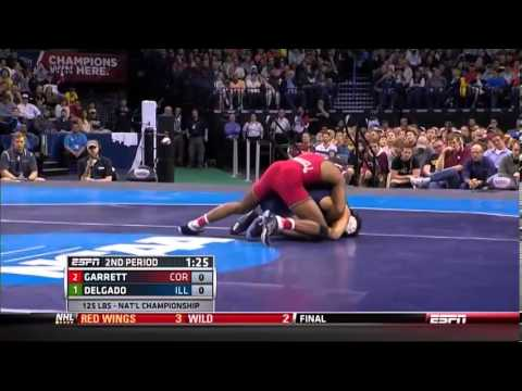 delgado vs garrett NCAA finals 2014